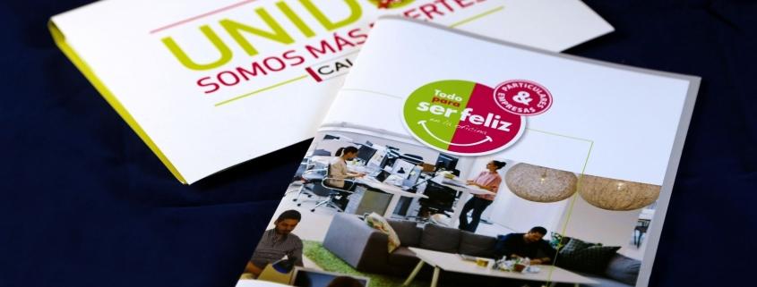 folleto papel certificado FSC