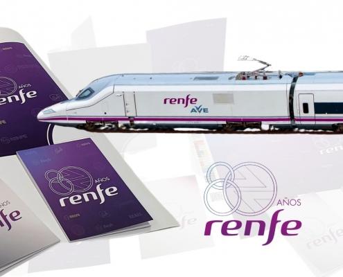 Material corporativo personalizado RENFE